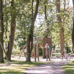 Spielplatz Familie Waldspielplatz Natur Ostsee
