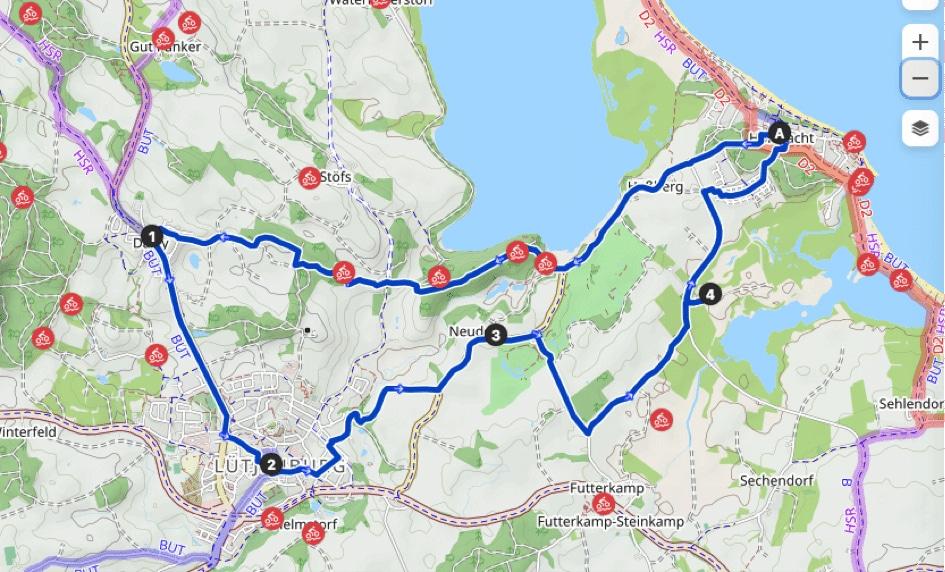 De-ole-School-Hohwacht-Ostsee-Ferienwohnung-Fahrradtour-Mountainbike-2